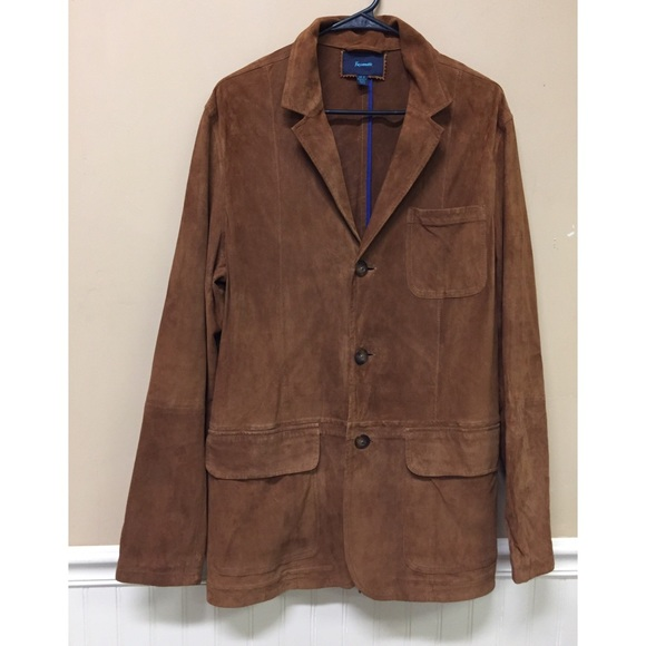 Faconnable Other - FACONNABLE GOAT SKIN  LEATHER Sports Coat JACKET